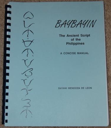 Modified Baybayin (5/6)
