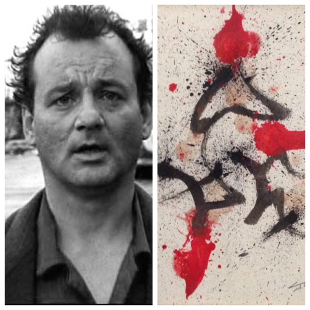 Bill Murray Baybayin art