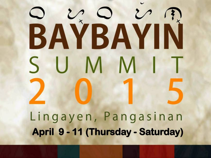 Baybayin Summit