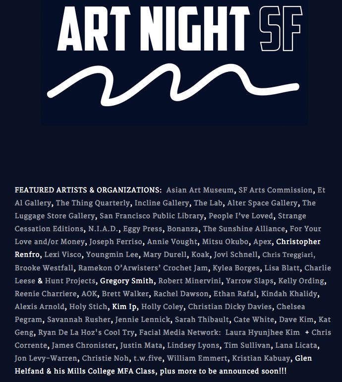 art night sf